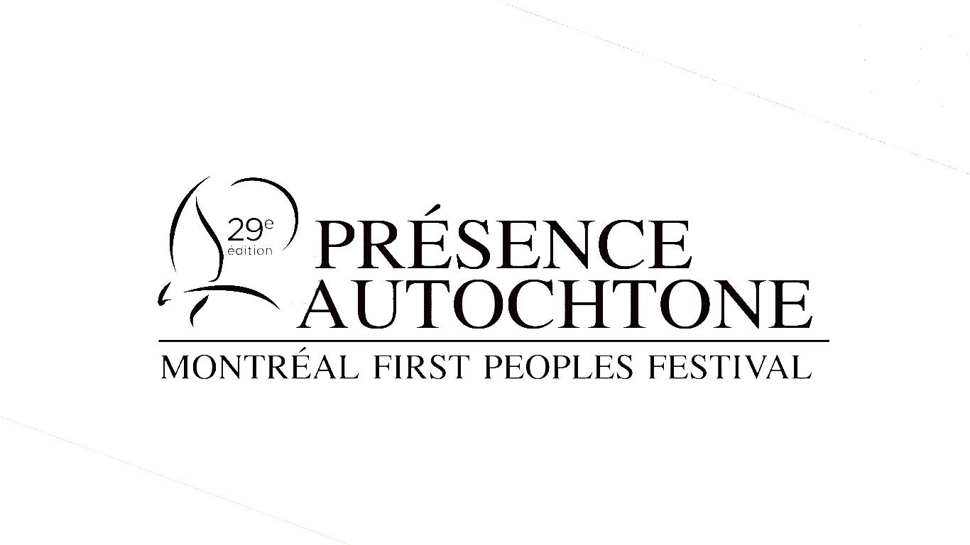 Logo Festival Présence autochtone (Terre en vues)