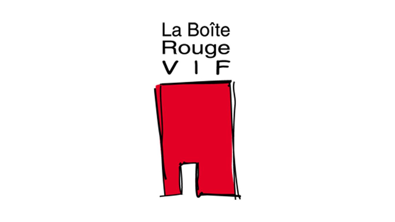 Logo La boite rouge vif